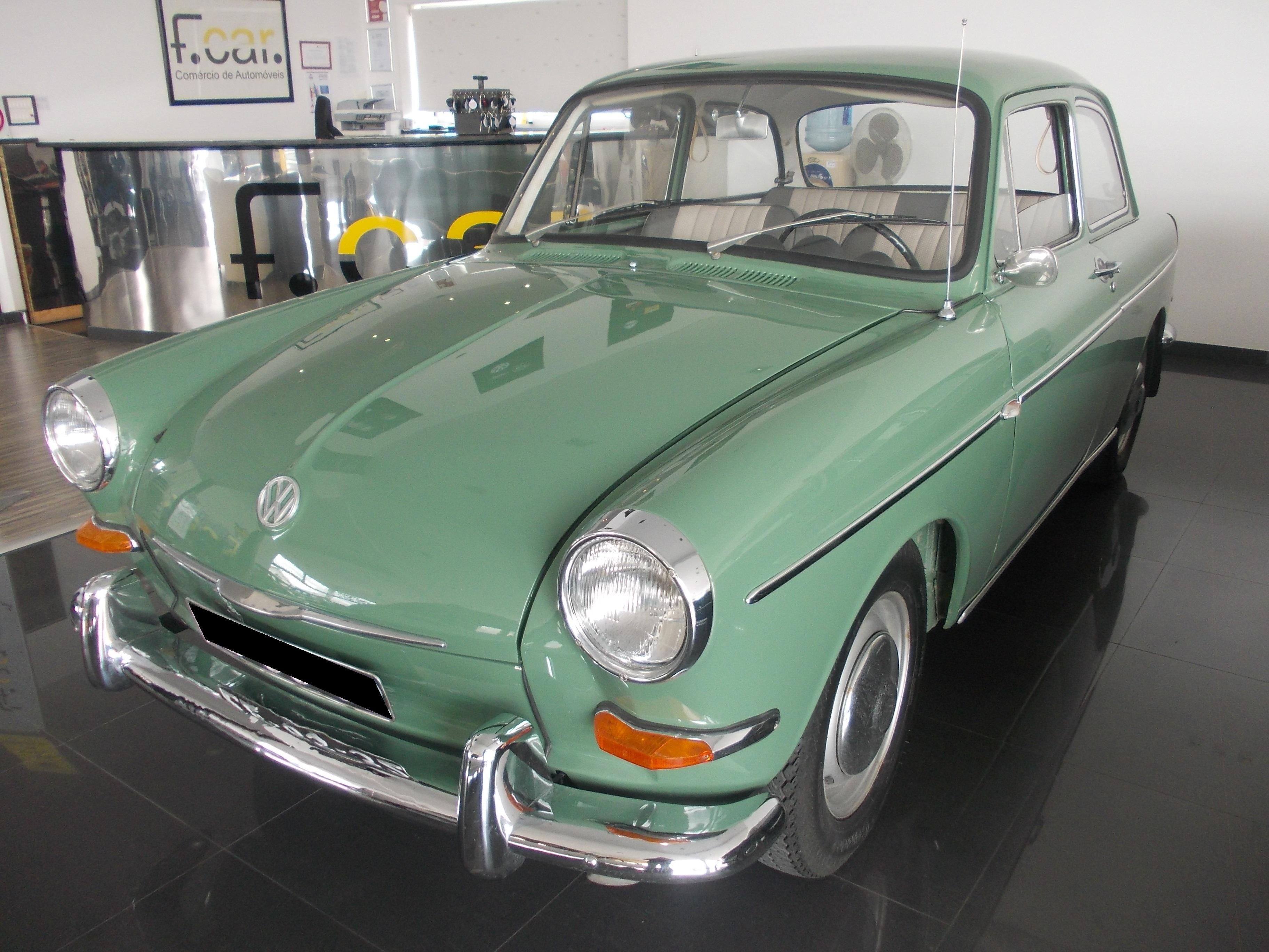 VW 1500 CHAPÉU DE COCO